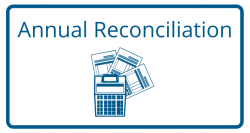 Link to information about payroll tax annual reconciliations